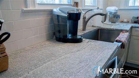 viscont white brushed kitchen granite countertops