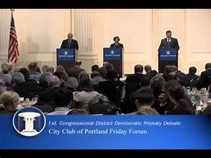 1st Congressional District Democratic Primary Debate - YouTube
