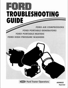 New Holland Ford Troubleshooting Guide Manual