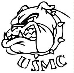 Marine Corps Bulldog Drawings