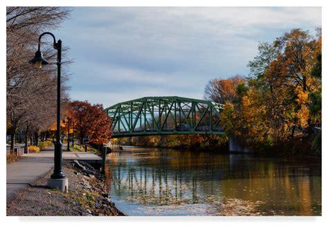 erie canal  autumn  anthony paladino canvas art