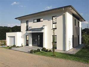 Moderne Hausfassaden Fotos : musterhaus citylife 500 einfamilienhaus von weberhaus markantes fertighaus mit ~ Orissabook.com Haus und Dekorationen