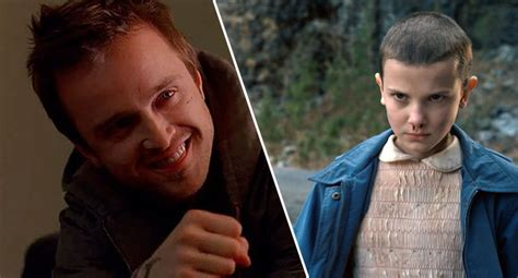 aaron paul interviews millie bobby brown aaron paul and his wife adopted stranger things star