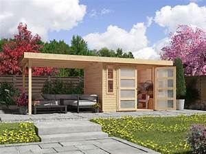 Karibu gartenhaus trundholm 2 lidlde for Karibu terrassenüberdachung bauanleitung