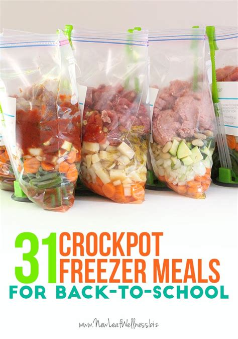 meals in a crockpot new leaf wellness