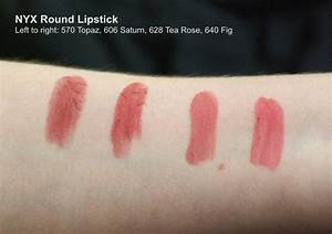 NYX Professional Makeup Round Lipstick - Tea Rose reviews ...