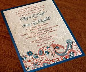 new wedding invitation design tanvi letterpress indian With modern indian wedding invitations wordings