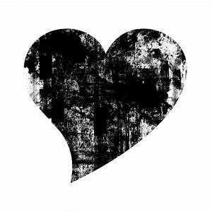 Solid Black Heart Clipart (42+)