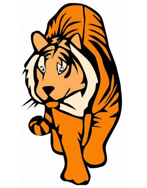 disegno  tigre  colori  bambini