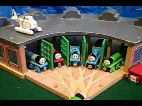 tidmouth sheds review wooden version youtube
