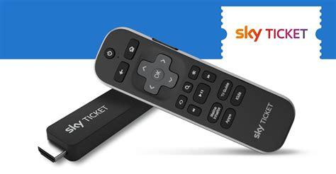 sky ticket tv stick offiziell vorgestellt deskmodderde