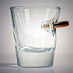BenShot Bulletproof - Shot Glass With Real Bullet - The ...