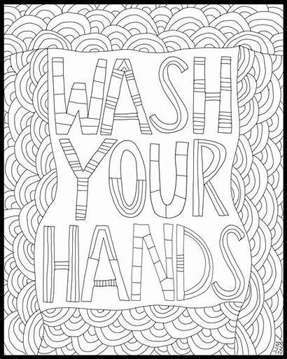 Coloring Wash Hands Mcgee Jennifer April Judd