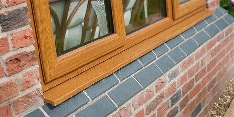 upvc windows doors  golden oak woodgrain effect