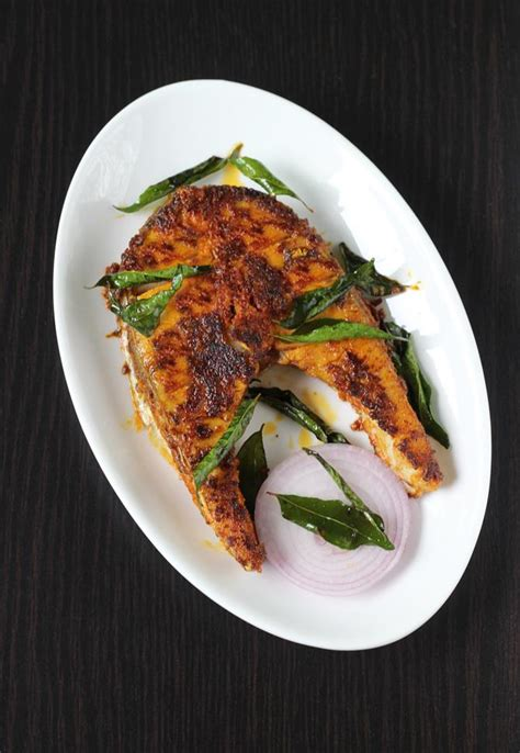 andhra fish fry recipe swasthis recipes