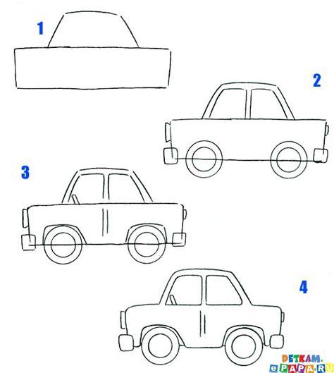 comment dessiner une voiture