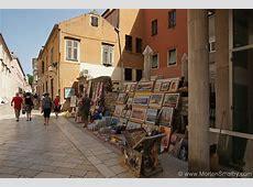 Shopping options in Zadar