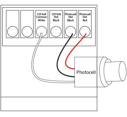 px photocell installation fx luminaire