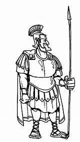 Centurion Cornelius Coloring Bible Spear Armor Heroes Cartoon Drawing Servant Centurions Healed Jesus Heals Getdrawings Netart Trending sketch template