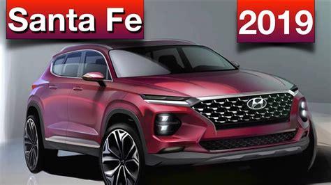 2019 Hyundai Santa Fe Sport Redesign by New Hyundai Santa Fe Sport 2019 Redesign Interior