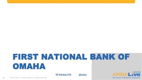 First bank of omaha credit card status. Achieving Procurement Excellence in the Banking and ...