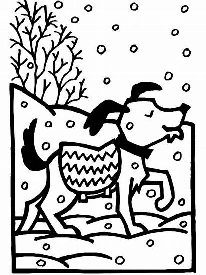 Coloring Winter Pages