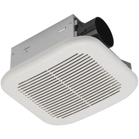 lowes kitchen exhaust fan shop utilitech 2 sone 70 cfm white bathroom fan energy