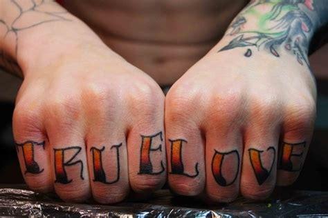 massive  cute knuckle tattoo designs page