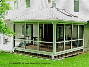 Hipped Roof House Plan Floor Plan Enjoy Sunroom Front Porch Designs