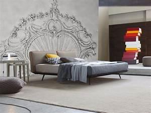 Tapeten Schlafzimmer Grau : 32 designer tapeten f r schlafzimmer und kinderzimmer ~ Markanthonyermac.com Haus und Dekorationen