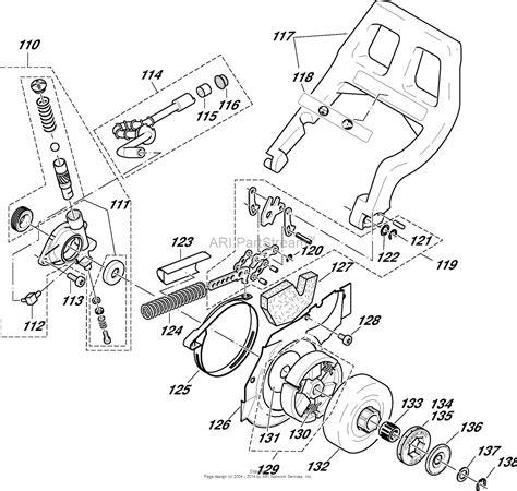 dolmar ps  chain saws gasoline parts diagram  oil
