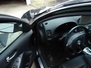 Nissan Altima Headliner Leaking Repair Video  Sunroof