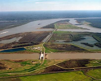 River Structure Control Complex Mississippi Water System