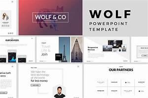 25 best minimal powerpoint templates 2018 design shack for Minimalist powerpoint