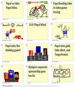 Pepsi Vs Coke Pepsi Wins Drawception