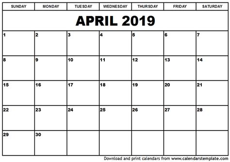 april  calendar uk qualads