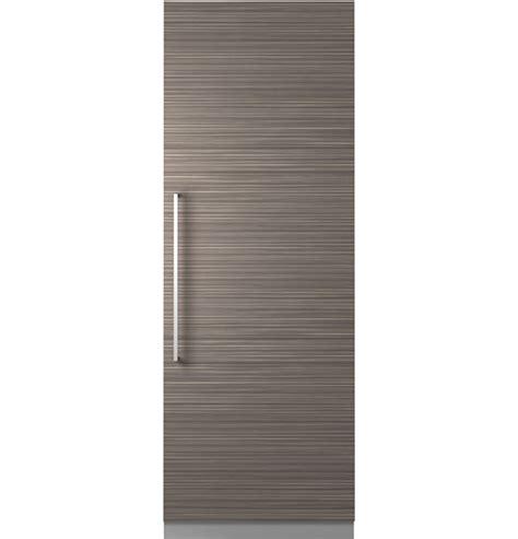 zirnpkii monogram  integrated column refrigerator coming fall   monogram