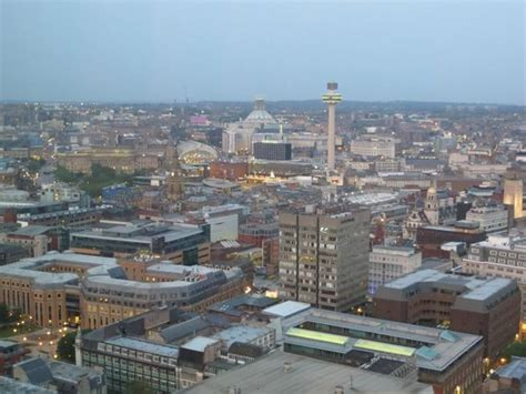 View Of Central Liverpool From Panorama 34