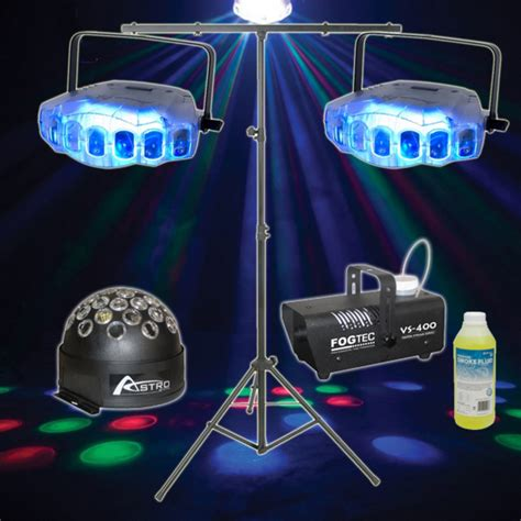 dj lighting packages american dj jellyfish disco lighting package whybuynew