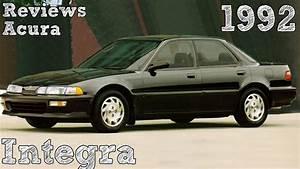 Reviews Acura Integra 1992