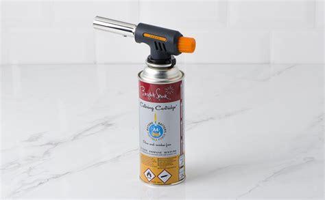 gaz chalumeau cuisine chalumeau à gaz pro cuisine 1 cartouche à gaz colichef