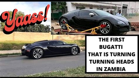 Zambia revenue authority documents show that the much talked about high value car, the bugatti veyron was brought in by lusaka businessman based in johannesburg and dubai, ian haluperi. BUGATTI VEYRON MAKES HEADLINES IN ZAMBIA! CHECK THIS! - YouTube