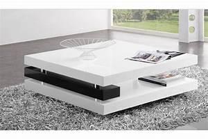 Table Basse Blanc Laqué Ikea : table basse design table de salon maisonjoffrois ~ Teatrodelosmanantiales.com Idées de Décoration