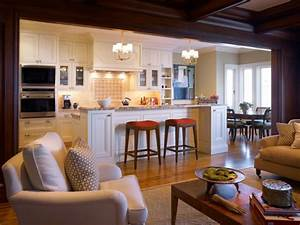 17 open concept kitchen living room design ideas style for Open living room kitchen designs