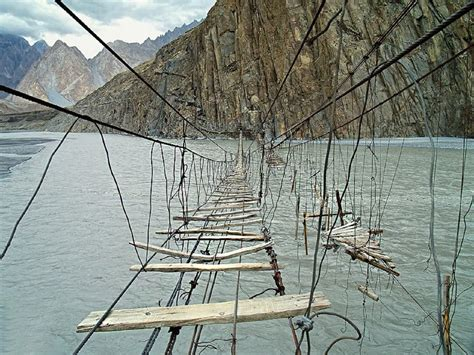 Hussaini Hanging Bridge Bloodcurdling Experience