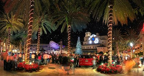 city place west palm beach christmas tree lighting