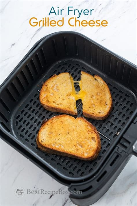 fryer air cheese grilled sandwich recipes recipe easy oven box bestrecipebox cooking