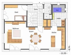 Stadtvilla Grundriss 150 Qm : toller flexibler grundriss eg 150 qm wohnfl che hausbeispiele von cal classic haus ~ Heinz-duthel.com Haus und Dekorationen