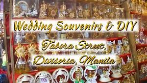 Wedding Souvenir & Giveaways: Tabora Street, Divisoria ...