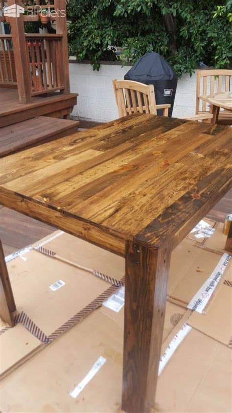 Pallet Dining Table. First Diy Project! ? 1001 Pallets